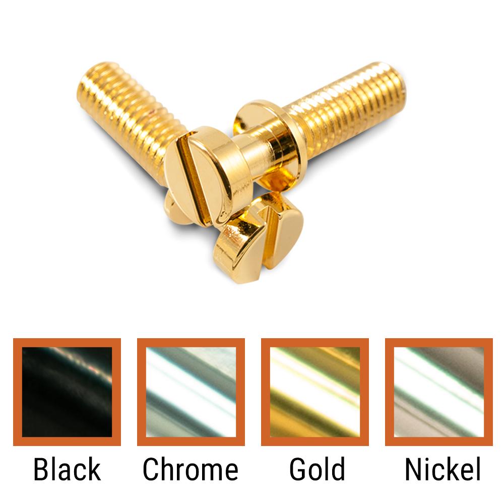 Kluson USA Steel Stop Tailpiece Stud Set Metric Thread