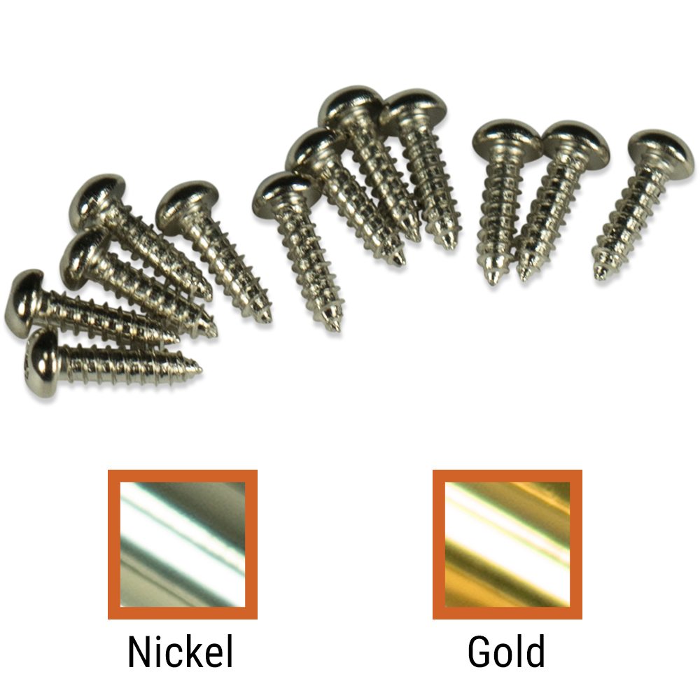 Kluson Mounting Screws For Deluxe Or Supreme Series Tuning Machines