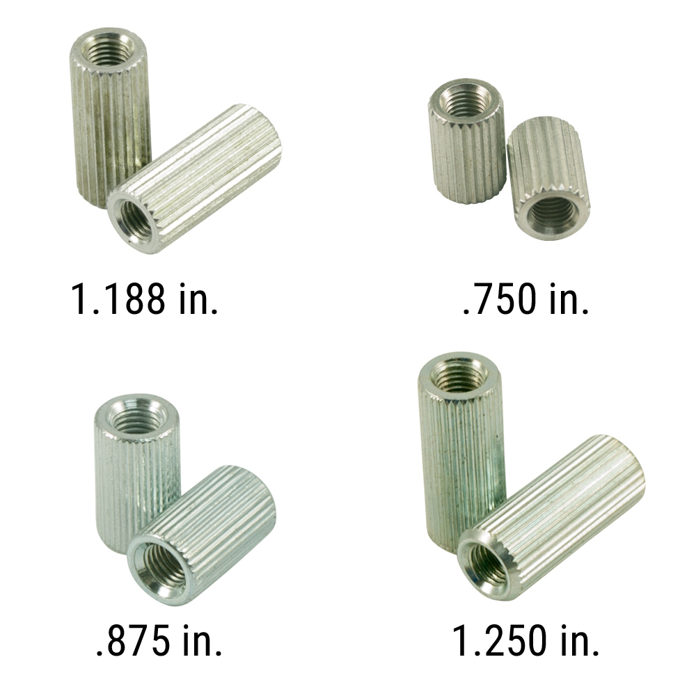 Kluson USA Anchor Bushings For Stop Tailpiece Studs Zinc With USA Thread