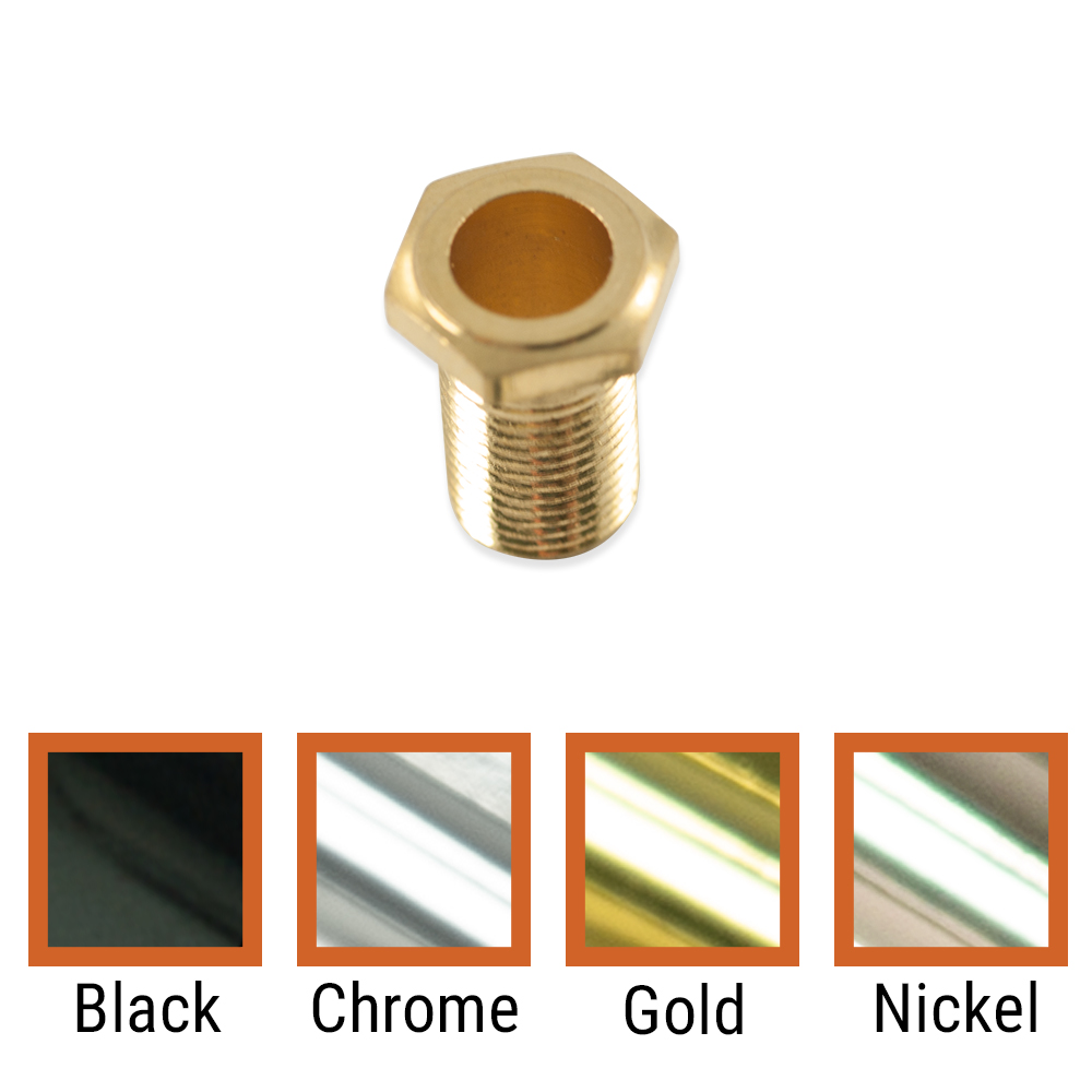 Kluson Replacement Threaded Hex Head Bushing For Contemporary Diecast Series Tuning Machines