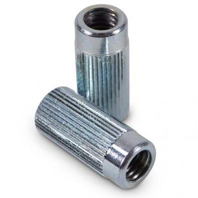 Kluson Fine Knurl Anchor Bushings For Stop Tailpiece Studs Zinc With Metric Or USA Thread