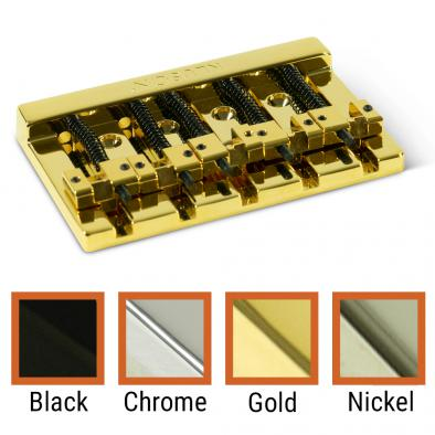 Kluson® High Mass 5 String Bass Bridge Zinc With Brass Saddles