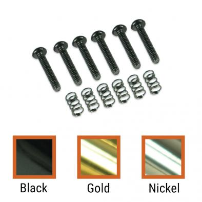 Kluson® Vintage Replacement Tremolo Saddle Intonation Screw & Spring Set
