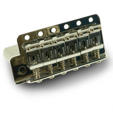 Kluson Vintage Left Hand Steel Block Tremolo Bridge With Contemporary Narrow Spacing
