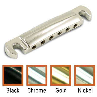 Kluson USA Aluminum, Brass, Steel, Or Zinc Stop Tailpiece With Steel Studs