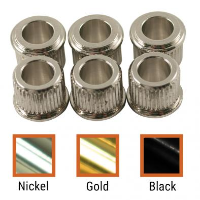 Kluson® Adapter Bushing Set For Deluxe Or Supreme Series Tuning Machines