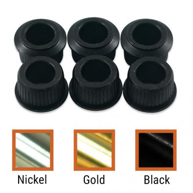 Kluson Adapter Bushing Set For Deluxe Or Supreme Series Tuning Machines & Contemporary Fender Guitars