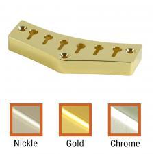 Kluson JG Custom Top Mount Tailpiece Brass