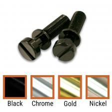 Kluson USA Brass Stop Tailpiece Stud Set USA Thread